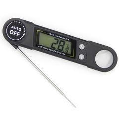سائل الطعام وشواء الطعام يلتقان بمقياس الحرارة باستخدام المسبار المعدني و مغناطيس شاشة أكبر مدمج ووحدة درجة حرارة التقرير الصوتي حفظ