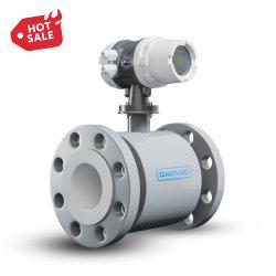 Accès sans fil IP65 Déchets industriels de pipeline de l'acide de l'eau débitmètre électromagnétique