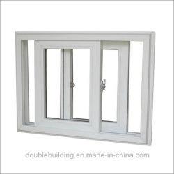 Finestra di alluminio bianca/profilo nero della finestra UPVC del PVC
