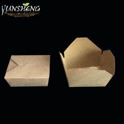 Prova de graxa grossista único e duplo bloqueio Custom efectuar caixas para restaurante
