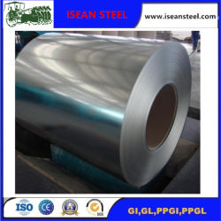 Dx51 de acero galvanizado recubierto de zinc en las bobinas con capa Z60