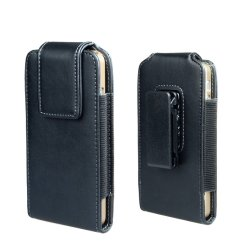 Clip de ceinture de l'iPhone 6 Plus l'étui Etui en cuir Premium cas