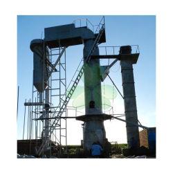 Forno di Blast di gas di carbone per fare mattoni refrattari di peso leggero Con Perlite e Clay