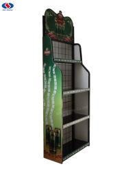 Fio de metal Rack de Exibição/garrafa de vinho Rack de Exibição/Exibir estandes para garrafas