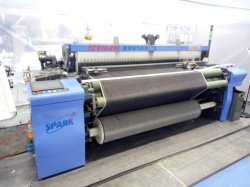 L'Air Jet Power métier à tisser tissage tissu Denim avec Staubli dobby