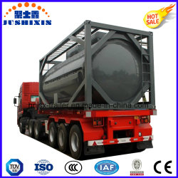원유/디젤/가솔린 운송용 Tri-액슬 중부하 작업용 탱크 컨테이너 연료