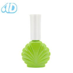 Fancy vide UV Gel Forme unique 15ml en verre de couleur UV gel vernis à ongles bouteille en verre avec bouchon de brosse