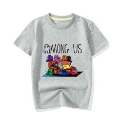 Kind-Kleidung-Jungen-Karikatur-Shirt-Sommer-Baumwolkurze Hülsen-Shirt-Kind-bequeme Kleidung 100%