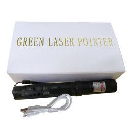 卸し売りUSBの再充電可能な100MW高い発電レーザーのポインターのペン