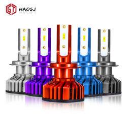 Bunte F2 LED Scheinwerfer 80W 12000lm H4 H7 LED Auto Scheinwerfer H1 H3 H8 H9 H11 9005 HB3 9006 HB4 880 881 H27 LED-Nebelscheinwerfer Auto 12V