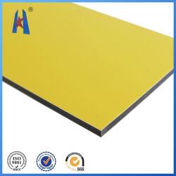 Panel de plástico aluminio PVDF PE Sin Color Fade-Away durante 15 años de garantía
