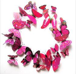 Artificiel décoration murale papillon 3D (FT80011)