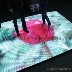 유행 단계 점화, 세륨, RoHS 증명서를 가진 LED 댄스 플로워