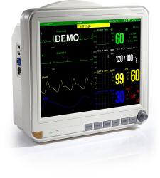 Snp Sinnor9000I Multiparameter монитора монитор Ccu ICU ветеринарного контроля над ETCO2 ЭКГ-SpO2 Портативный прикроватный монитор питания на заводе производителем