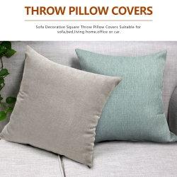 Серый серебристый обжатой бархата фирменные кровати одеяло, шторы подушки