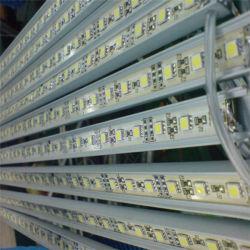 Lumière rigide en aluminium de barre de bande du logement 12VDC SMD 5050 LED
