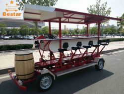 2017 nuevo e innovador producto de la cerveza de Bus de pedal eléctrico bicicleta bicicleta parte