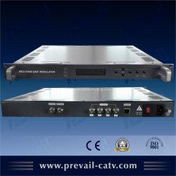 Modulateur numérique CATV côté tête, vérin Qam avec Ts multiplexage (WDQ-3204B)