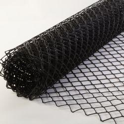 En polyéthylène haute densité en plastique à usage intensif maille losange barrière de sécurité clôture à neige