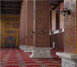 Wilton-moslemische Teppiche und Wolldecken