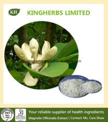 マグノリアの吠え声のエキスのHonokiol 95%/皮質Magnoliae Officinalisのエキス