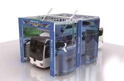 نظام غسيل الشاحنات للخدمة الشاقة
