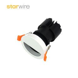중국 상단은 공급 반원 디자인 소형 조정가능한 LED Downlight를 제조한다
