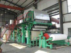pianta di fabbricazione ad alta velocità della Cina della macchina della carta igienica di vendita di 3200mm del cilindro caldo di vuoto