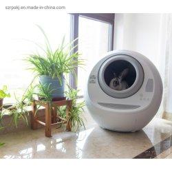 6L PP Anti-Clip material de limpieza automático mejor cuadro de gatos mascota mascota wc Litter Box accesorios para mascotas