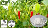 Uittreksel van de Spaanse peper van 100% het Natuurlijke: Capsaicin 60%, 95%, 97%, 99%; 10:1; 20:1