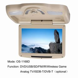 11 Inch Roof DVD with USB/SD (MP5) (OS-1168D)