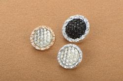 상한 Glitter UV Plated Stone Plastic Button (34L, 40L, 48L)