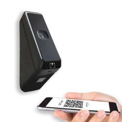 Nessun lettore di controllo di accesso dell'ospite di codice di Bluetooth Qr di tocco usando telefono mobile personale