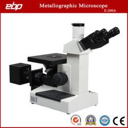 Microscopi metallurgici invertiti per strumenti da laboratorio supportano la telecamera per microscopio