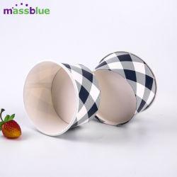 Abordable PLA/revêtu de PE bol de crème glacée jetables Design personnalisé bol de yogourt de papier
