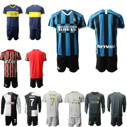 La juventus, maillot de football de Manchester Kit de la Thaïlande Maillots de Soccer Jersey