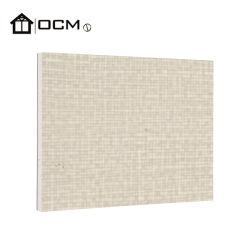 Weißes Netz Magnesium Oxide Kern HPL Furnier feuerfeste Innenausstattung Wanddekorationboard