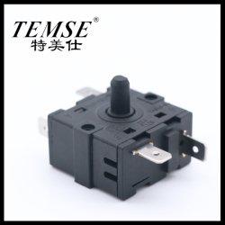 34.5mm*19mm roterend-Schakelaar 16A250VAC 3position5pin voor Verwarmer van de Ventilator van de Oven van de Nok de Elektro