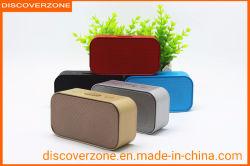 H-899 lederner Bluetooth Lautsprecher-Eisen-Ineinander greifen kreativer im Freien kleiner Bluetooth AudioHandy-drahtloser Tischplattenverstärker