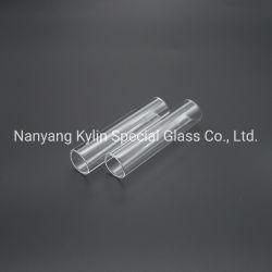 أنبوب زجاجي كوارتز يعمل بالأشعة فوق البنفسجية للإضاءة