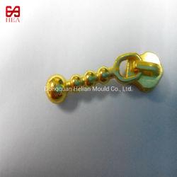 № 3 не стопорной покрытием Gold Custom металлические молнии Slider