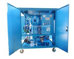 Tratamiento de aceite del transformador de procesamiento de vacío máquina Dewater y Degas aceite