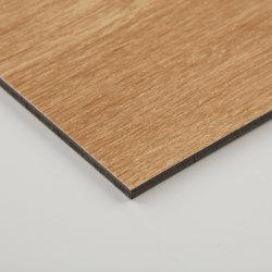 Material de parede em alumínio à prova de folha de alumínio cor madeira ACP/Painel Composto de alumínio