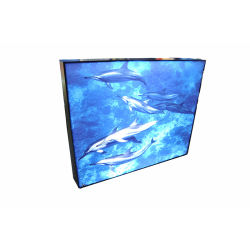 Ультра тонкий 19мм толщина водонепроницаемый алюминиевый профиль для использования внутри помещений наружная реклама стопорное рамы светодиодный индикатор .