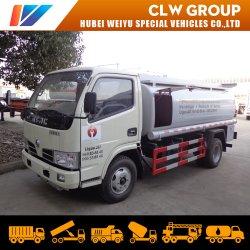 De aangepaste MiniVrachtwagen van de Tanker van de Brandstof 3m3/4m3/5m3 met de Pomp van de Olie en tankt Automaat bij
