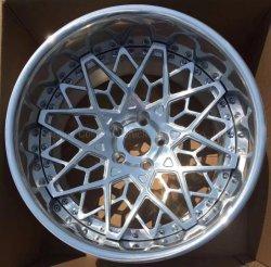 18-24 pulgadas Two-Pieces Deep-Caven coche llantas de aleación de aluminio forjado/llantas de aleación