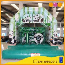 Aoqi Panda 15X15 de la casa de rebote de inflables para niños