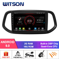 Navigation des Witson Android-9.0 des Auto-DVD für KIA K3 2015-2017