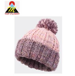 POM POM Girl Cutety hiver chaud Beanie Cap Watch Hat