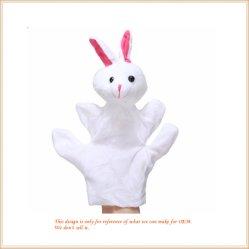 قطيفة حيوانيّة إصبع دمية [وهوسل] أرنب دمية